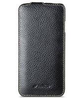 "Черный кожаный чехол для iPhone 6 Plus / 6s Plus (5.5"") - Melkco Jacka Type Leather Case Black"
