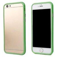 """Зеленый пластиковый бампер для iPhone 6 (4.7"""")"""
