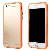 """Оранжевый пластиковый бампер для iPhone 6 (4.7"""")"""