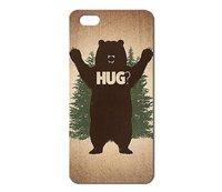Чехол накладка для iPhone 5s / SE / 5 bear hug