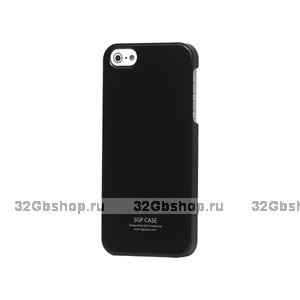 Задняя накладка для iPhone 5 / 5s / SE - SGP Ultra Thin Air Series - черная