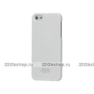 Задняя накладка для iPhone 5 / 5s / SE - SGP Ultra Thin Air Series - белая