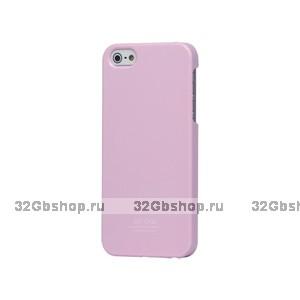 Задняя накладка для iPhone 5 / 5s / SE - SGP Ultra Thin Air Series - розовая