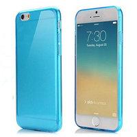 """Голубой прозрачный силиконовый чехол для iPhone 6 / 6s (4.7"""")"""