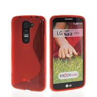 Крастный силиконовый чехол S Line Case для LG G2 mini