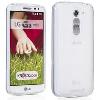 Прозрачный силиконовый чехол чехол для LG G2 mini - Transparent Silicone Cover - Clear