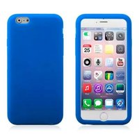 """Голубой матовый силиконовый чехол для iPhone 6 Plus / 6s Plus (5.5"""")"""