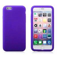 """Фиолетовый матовый силиконовый чехол для iPhone 6 Plus / 6s Plus (5.5"""")"""