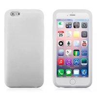 """Белый матовый силиконовый чехол для iPhone 6 Plus / 6s Plus (5.5"""")"""