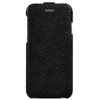 """Кожаный флип чехол для iPhone 6 Plus / 6s Plus (5.5"""") черный - HOCO Premium Flip Genuine Leather Case"""