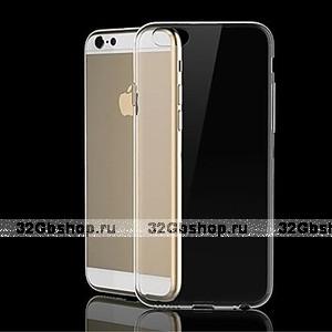 "Прозрачный пластиковый чехол накладка для iPhone 6 Plus / 6s Plus (5.5"")"