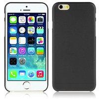 """Черный пластиковый чехол накладка для iPhone 6 Plus / 6s Plus (5.5"""")"""