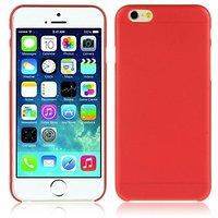 """Красный пластиковый чехол накладка для iPhone 6 Plus / 6s Plus (5.5"""")"""