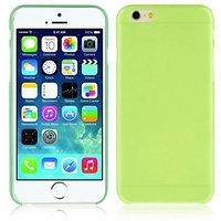 "Зеленый пластиковый чехол накладка для iPhone 6 Plus / 6s Plus (5.5"")"