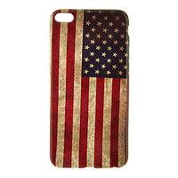 """Силиконовый чехол для iPhone 6 Plus / 6s Plus (5.5"""") американский флаг - USA Flag Pattern Soft Case"""
