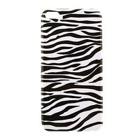 """Черно-белый силиконовый чехол для iPhone 6 Plus / 6s Plus (5.5"""") зебра"""