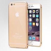 Золотой алюминиевый бампер для iPhone 6 Plus