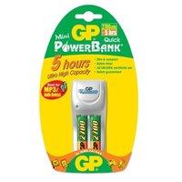 Зарядное устройство GP PowerBank MINI QUICK + 2 аккумулятора AA x 2700 mAh (PB25GS270-C2)
