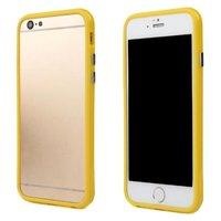 "Желтый пластиковый бампер для iPhone 6 Plus (5.5"")"