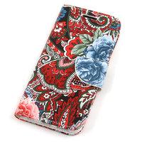"""Чехол книжка для iPhone 6 / 6s (4.7"""") - цветы"""