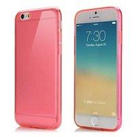 """Красный прозрачный силиконовый чехол для iPhone 6 / 6s (4.7"""")"""