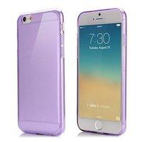 """Фиолетовый прозрачный силиконовый чехол для iPhone 6 / 6s (4.7"""")"""