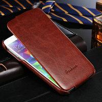 Чехол флип Fashion для Samsung Galaxy S5 коричневый