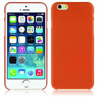 """Оранжевый пластиковый чехол накладка для iPhone 6 Plus / 6s Plus (5.5"""")"""