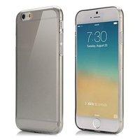 """Черный прозрачный силиконовый чехол для iPhone 6 / 6s (4.7"""")"""