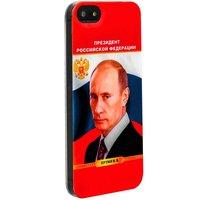 Силиконовый чехол накладка для iPhone 5s / SE / 5 с фото Владимир Путин