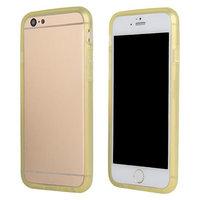 """Бампер силиконовый для iPhone 6 (4.7"""") желтый"""