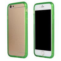 """Бампер силиконовый для iPhone 6 (4.7"""") зеленый"""