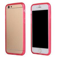 """Бампер силиконовый для iPhone 6 (4.7"""") розовый"""