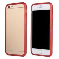 """Бампер силиконовый для iPhone 6 (4.7"""") красный"""