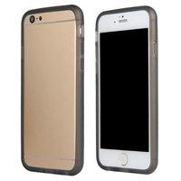 Серый прозрачный силиконовый бампера для iPhone 7