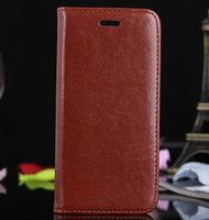 "Чехол книга pu для iPhone 6 Plus / 6s Plus (5.5"") коричневый"