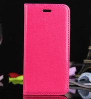 "Чехол книга pu для iPhone 6 Plus / 6s Plus (5.5"") розовый"