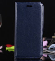 "Чехол книга pu для iPhone 6 Plus / 6s Plus (5.5"") синий"