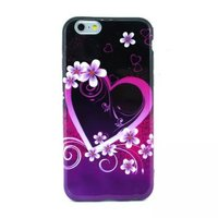 """Силиконовый чехол для iPhone 6 Plus / 6s Plus (5.5"""") с рисунком сердце"""