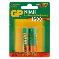 Аккумулятор GP R6-2BL никель-металлгидридные 1600 mAh тип АА