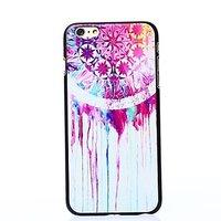 "Пластиковый чехол накладка для iPhone 6 Plus / 6s Plus (5.5"") с узором звездочки краска"
