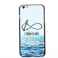 """Пластиковый чехол для iPhone 6 / 6s (4.7"""") накладка море и волны"""