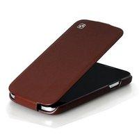 Кожаный чехол HOCO для Samsung Galaxy S4 - HOCO Duke flip Leather Case Brown