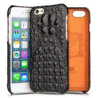 Премиум чехол из кожи крокодила для iPhone 6s Plus / 6 Plus черный