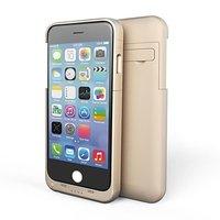 Чехол батарея для iPhone 6 Plus золотой - Power Bank Case 4800mAh
