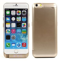 Чехол аккумулятор для iPhone 6 (4.7) золотой - External Battery Case 3000mAh