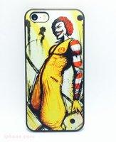 Пластиковый чехол накладка для iPhone 5s / SE / 5 клоун
