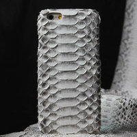 """Премиум чехол из кожи змеи для iPhone 6 / 6s (4.7"""") белый"""