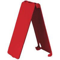 Красный чехол книжка для Huawei Ascend P6