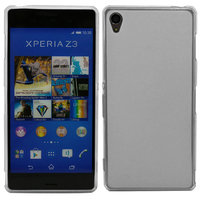 Белый силиконовый чехол для Sony Xperia Z3